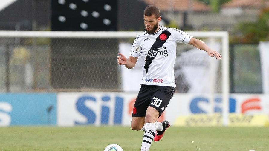 Zagueiro Marcelo Alves pode renovar com o Vasco: contrato de empréstimo do Madureira termina domingo (28) - Rafael Ribeiro / Vasco