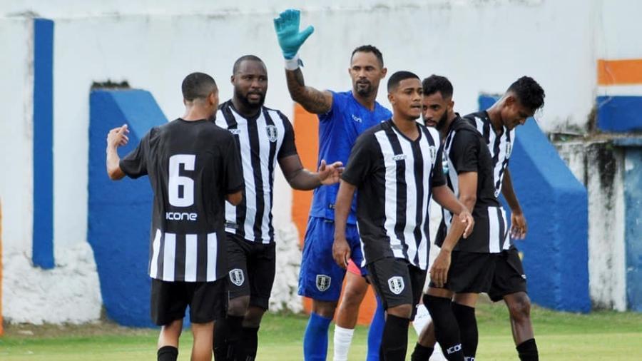 Bruno joga a quarta divisão do Rio pelo Atlético Carioca e até já marcou gol - Divulgação/Atlético Carioca