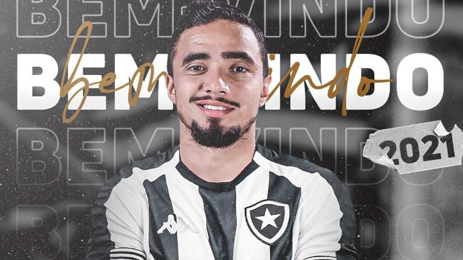 Rafael da Silva, lateral do Botafogo - Divulgação/Facebook oficial do Botafogo