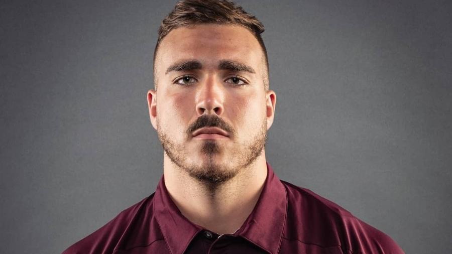 Francis Perron, jogador de futebol americano da Universidade de Ottawa - Reprodução/Instagram