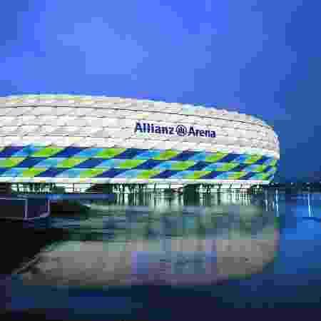 Estádios não terão presença de torcedores até o fim da temporada na Alemanha - Allianz Group via Getty Images