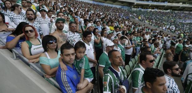 Palmeiras levou mais de um milhão de torcedores ao Allianz Parque em 2015