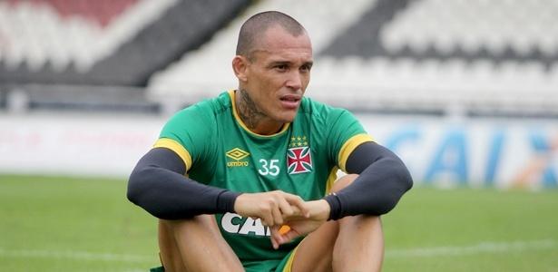 Leandrão tem agradado ao técnico Jorginho nas últimas partidas pelo Vasco - Paulo Fernandes / Site oficial do Vasco