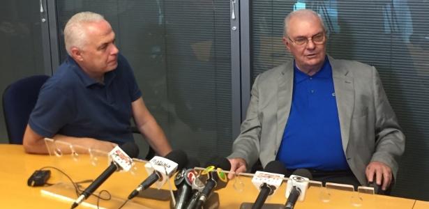 Gilvan de Pinho Tavares, presidente do Cruzeiro, deixou clara a intenção de fazer trocas