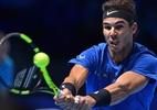 Lesionado, Nadal abandona o ATP Finals após derrota em estreia - AFP PHOTO/Glyn KIRK