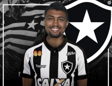 Kieza, novo reforço do Botafogo