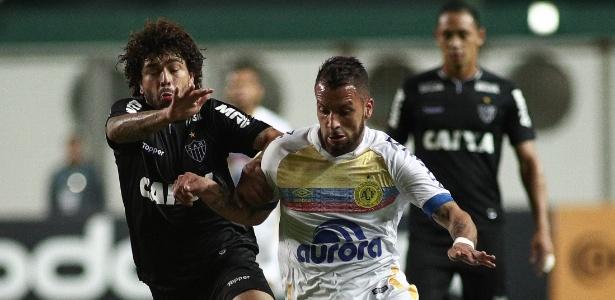 Luan já passou de 200 jogos com a camisa do Atlético-MG - Pedro Vale/AGIF