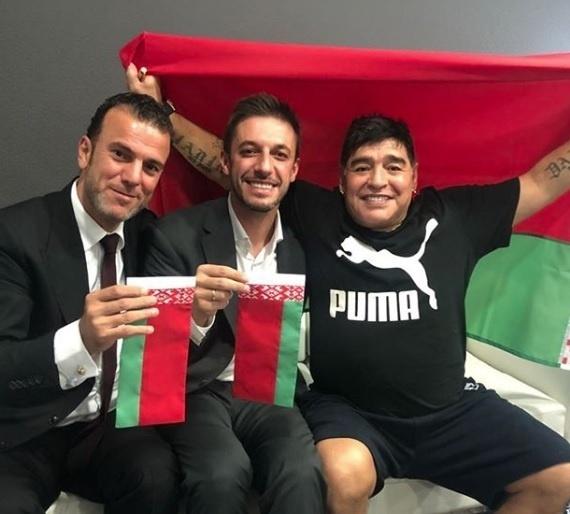 Maradona será presidente do conselho administrativo do Dínamo Brest