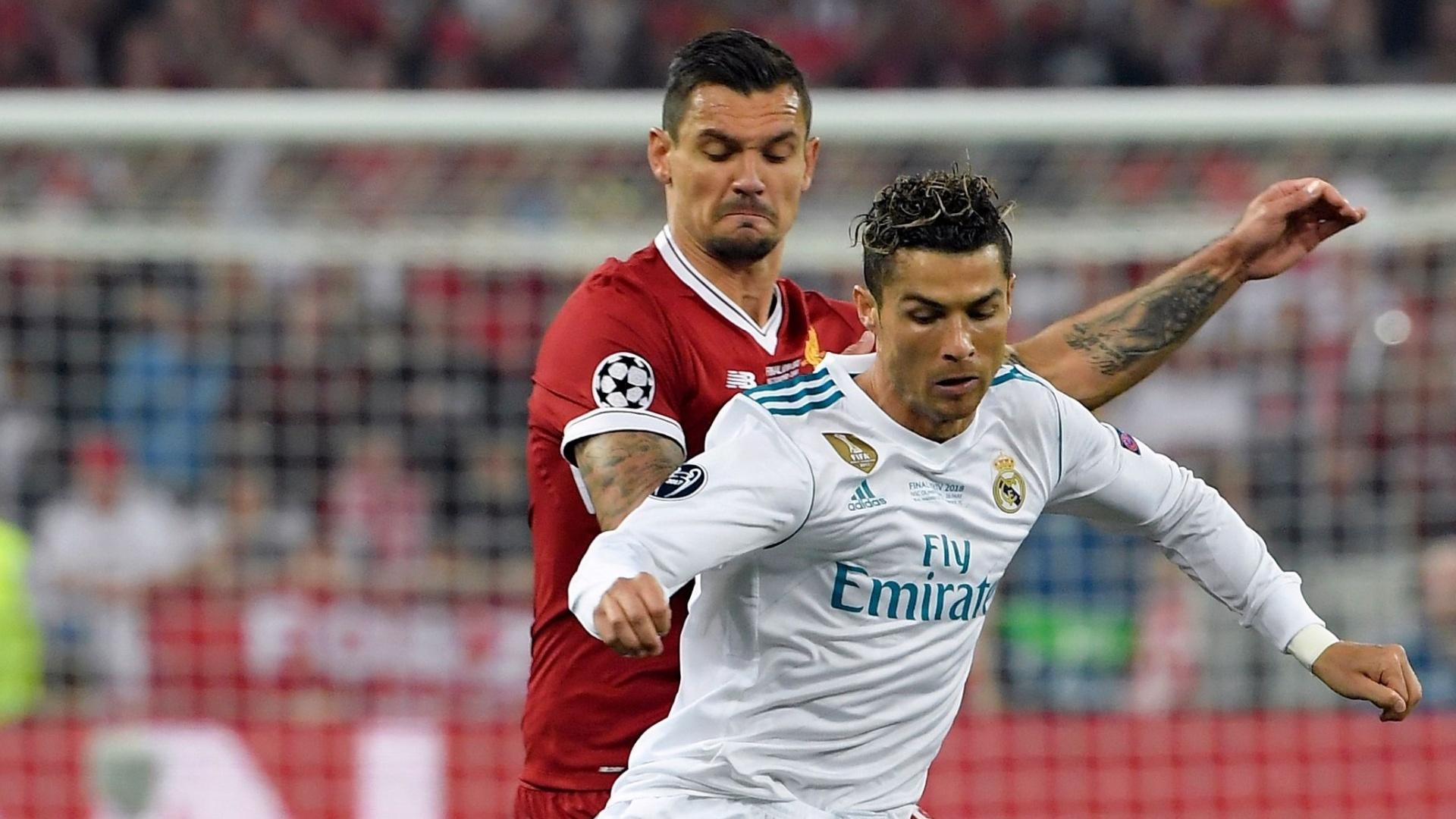 Cristiano Ronaldo em ação na final da Liga dos Campeões