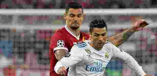 Cristiano Ronaldo em ação na final da Liga dos Campeões - AFP PHOTO / LLUIS GENE - AFP PHOTO / LLUIS GENE