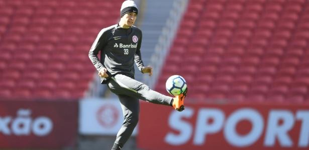 Rodrigo Dourado foi preservado de dois treinamentos e é dúvida para jogo de segunda - Ricardo Duarte/Inter