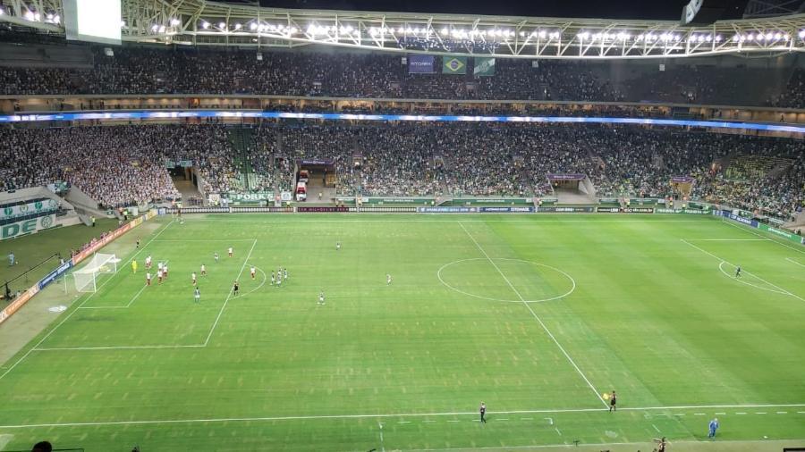 Palmeiras terá que jogar fora do Allianz Parque contra o CSA por conta de shows no fim do mês - Danilo Lavieri/UOL