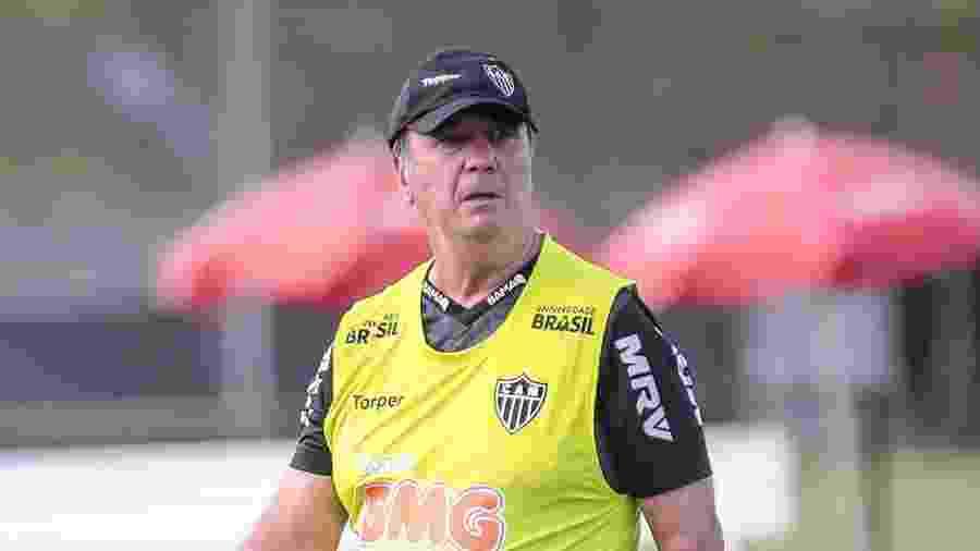 Levir Culpi não fala em mudar a formação do Atlético-MG após novo tropeço - Bruno Cantini/Atlético-MG