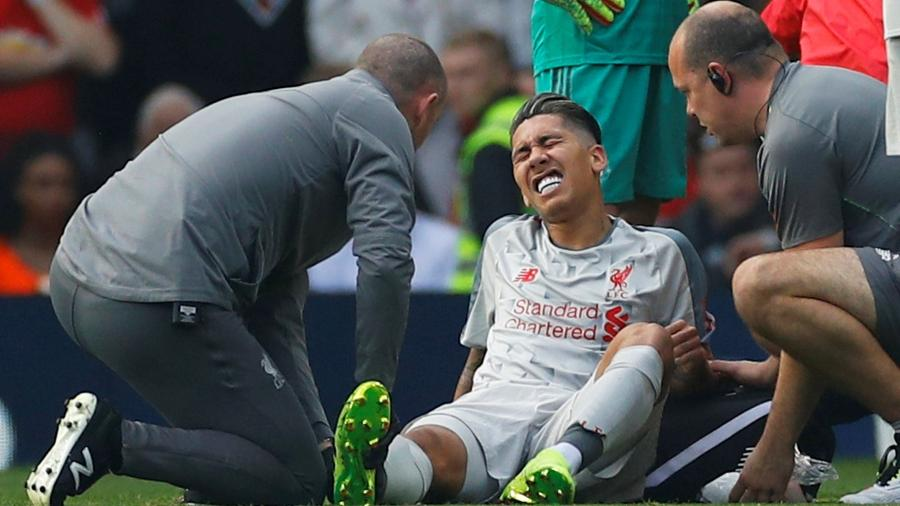 Roberto Firimino Liverpool Manchester United - Phil Noble/Reuters