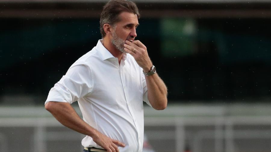 Vagner Mancini tenta dar jeito ao São Paulo enquanto Cuca não pode assumir a equipe - Marcello Zambrana/AGIF