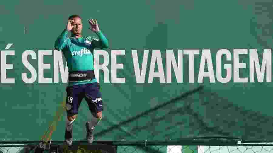 Guerra está no último de seus três anos de contrato com o Palmeiras - Cesar Greco/Ag. Palmeiras