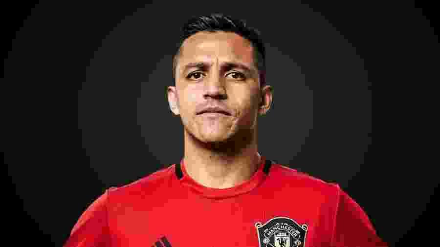 Alexis Sanchez, do Manchester United, esteve na Inter de Milão e pode ir para o Atlétido de Madri - Divulgação/Site oficial do Manchester United
