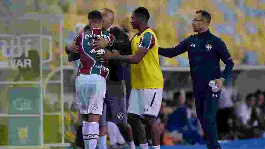 Após discussão com Oswaldo, Ganso voltou a dar bronca áspera no jovem João Pedro - Thiago Ribeiro/AGIF