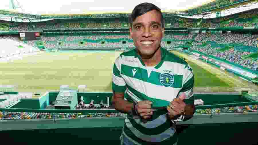 Wendell Lira é apresentado como jogador de eSports no Sporting - Divulgação/Sporting