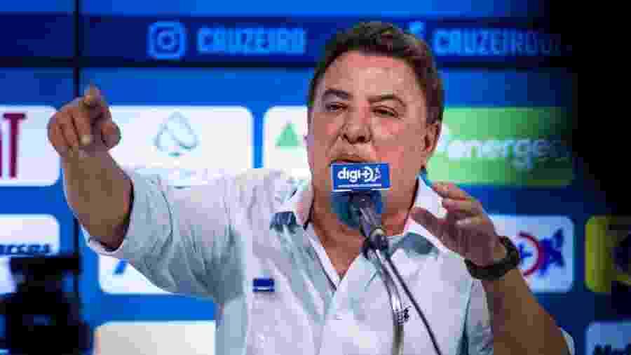 Zezé Perrella, gestor de futebol do Cruzeiro, se diz vítima de montagem em áudio com crítica a Sérgio Santos Rodrigues - Bruno Haddad/Cruzeiro