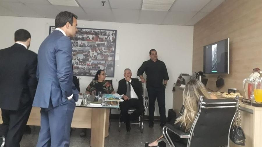 STJD analisa imagens de Botafogo x Flamengo em julgamento - Alexandre Araújo/UOL Esporte