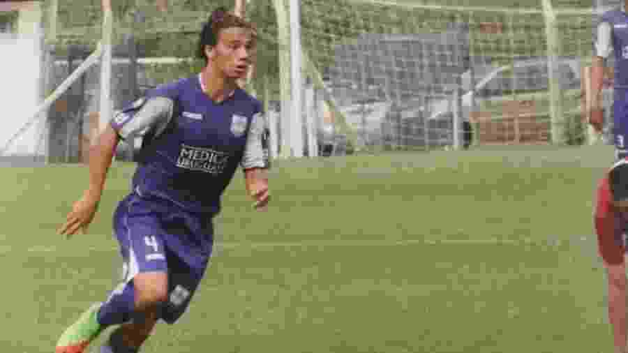Com passagem pelo Defensor, Nicolás Lugano atuará pelo Plaza Colonia em 2020 - @Nico_Lugano2000/Twitter