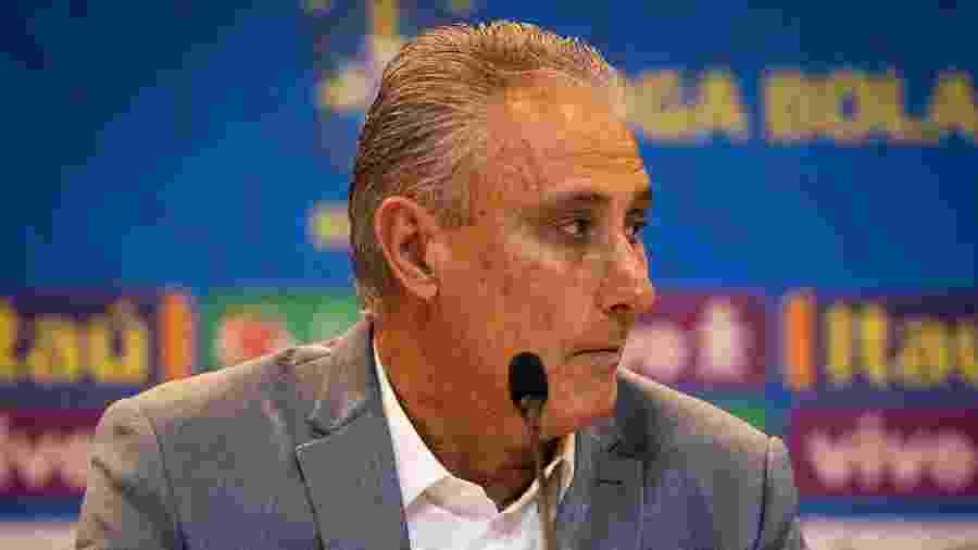 Tite, durante convocação da seleção brasileira - Felipe Moreno / MoWA Press