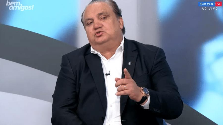 Branco, coordenadorde seleções de base da CBF, é intubado em hospital do Rio de Janeiro - Reprodução/SporTV