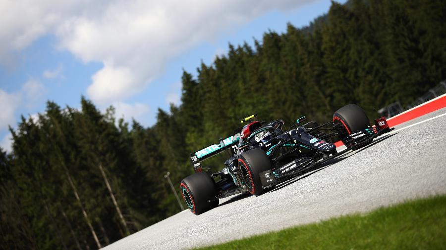 Valterri Bottas no Grande Prêmio da Áustria - Bryn Lennon/Getty Images