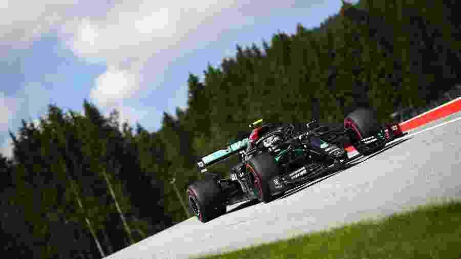 Valterri Bottas, primeiro vencedor da temporada no Grande Prêmio da Áustria - Bryn Lennon/Getty Images
