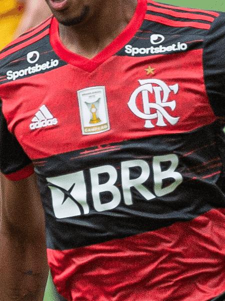 Camisa da Adidas utilizada pelo Flamengo na retomada da temporada 2020 - Alexandre Vidal/Flamengo