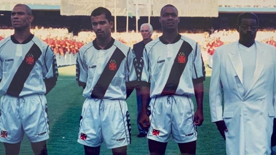 Vagner fez parte do histórico time do Vasco de 1998, onde foi o camisa 10 do título da Libertadores - Acervo Pessoal