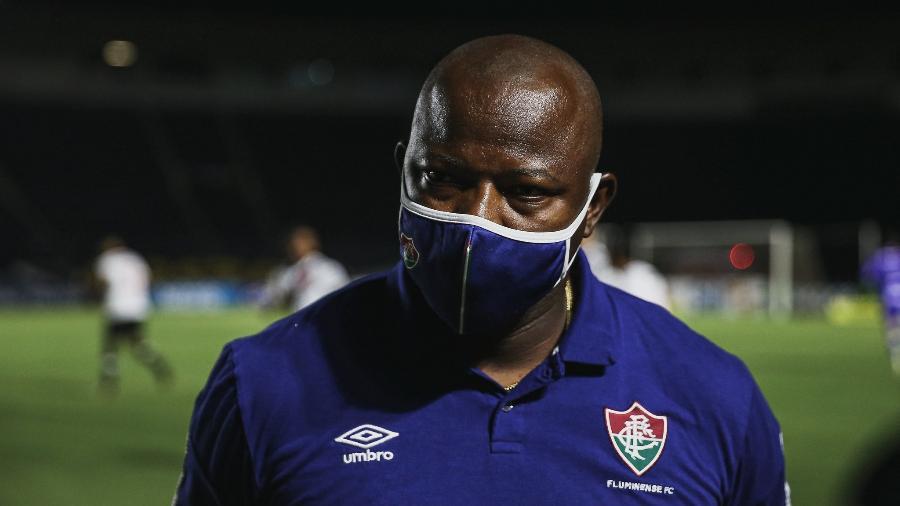 O técnico Marcão está com o novo coronavírus - Lucas Merçon/Fluminense FC