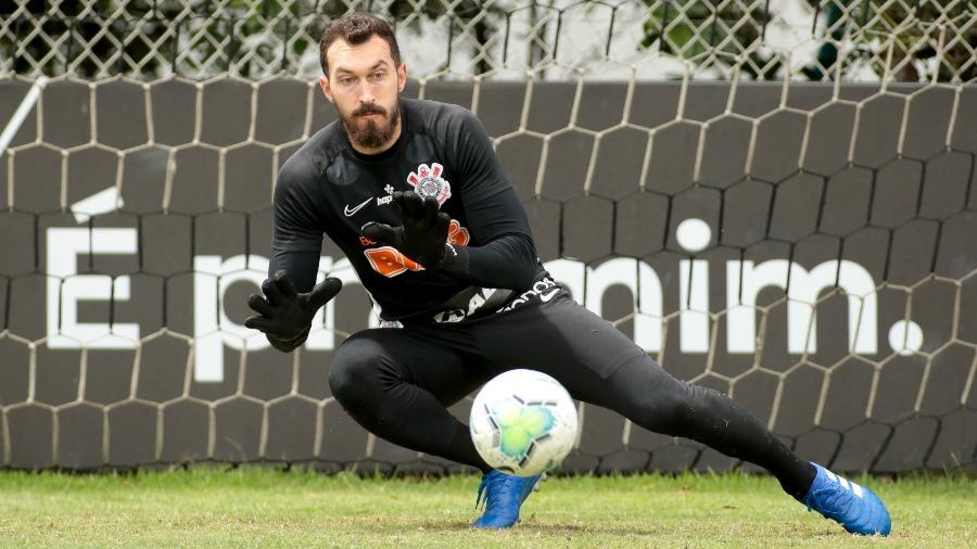 Walter tem quase 100 jogos com a camisa do Corinthians, mas quer mais na carreira  - Rodrigo Coca/ Ag. Corinthians