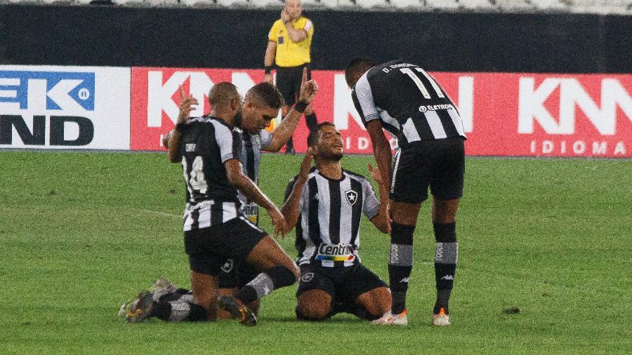 Botafogo acumula três vitórias seguidas na Série B do Brasileiro - ÉRICA MARTIN/THENEWS2/ESTADÃO CONTEÚDO