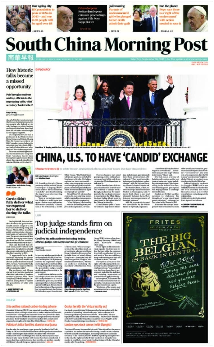 South China Morning Post (China):