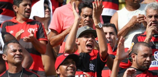 Torcedores protestaram contra o Flamengo após a derrota para o Volta Redonda