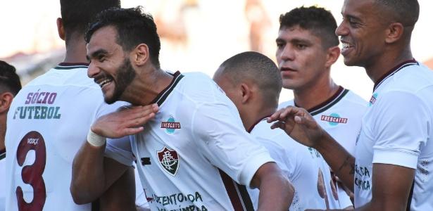Henrique soma dois gols em dez jogos com a camisa do Fluminense