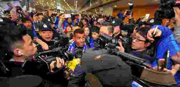tevez - AFP / STR / China - AFP / STR / China