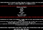 Site do Boa é invadido por hackers e exibe dados sobre feminicídio - Reprodução