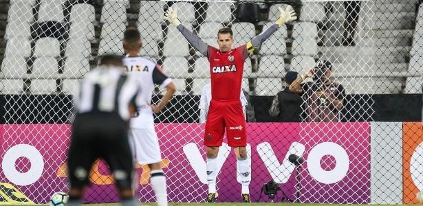 Victor lamentou falta de sorte do Atlético-MG na decisão de pênaltis contra o Londrina