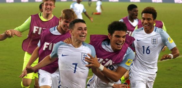 Inglaterra conquistou o último Mundial sub-17, em 2017 - Danishi Siddiqui/Reuters