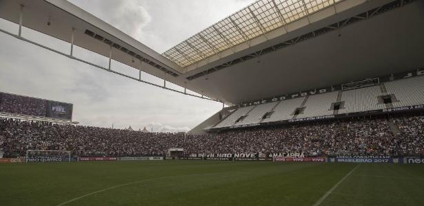 Arena Corinthians receberá partida contra o Fluminense na quarta