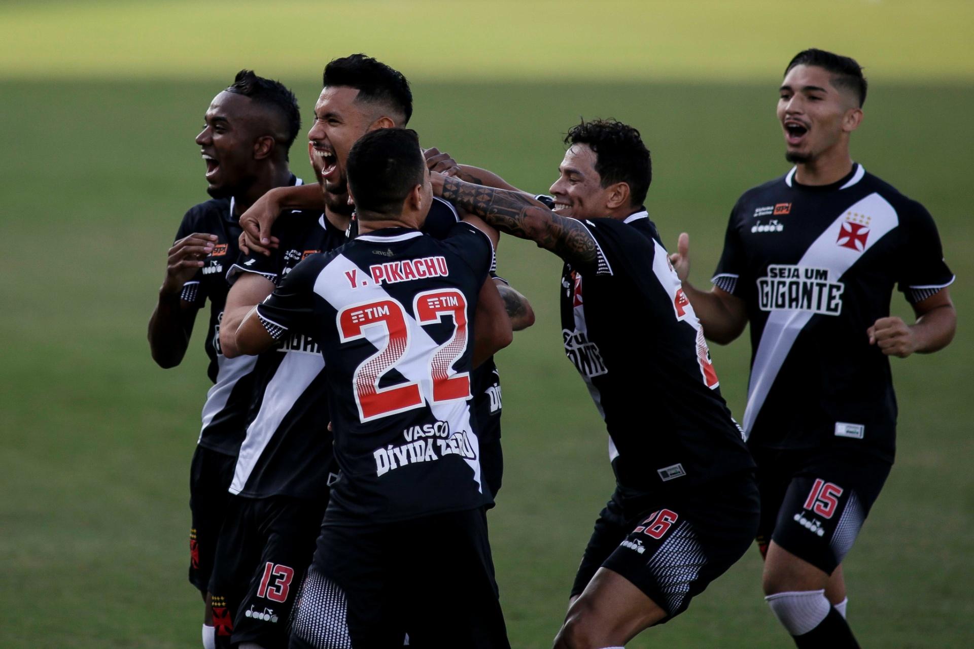 Vasco faz gol relâmpago 6d21a69d7c7d4