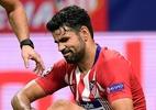 D. Costa sofre nova lesão e pode desfalcar Atlético de Madri contra o Barça - Javier Soriano/AFP Photo