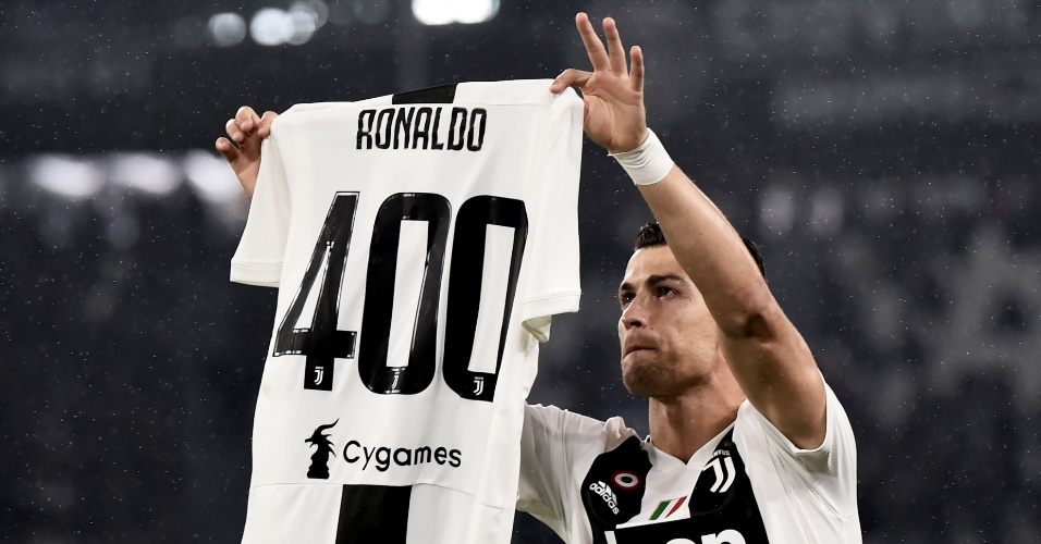 CR7 recebe homenagem por chegar a 400 gols nas principais ligas europeias