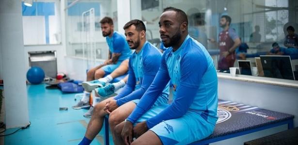 Jogadores do Cruzeiro em exames; comissão técnica agilizou trabalhos para 2019