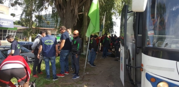 Operação da Polícia foi a segunda contra barra-bravas nesta semana - Divulgação/Ministério de Segurança da Província de Buenos Aires