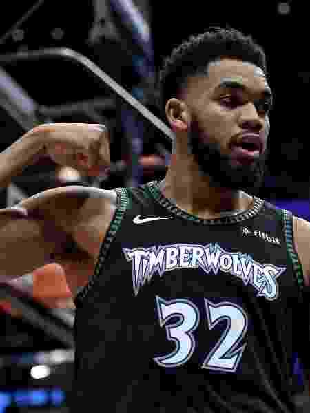 Karl-Anthony Towns NBA Minnesota Timberwolves - Steve Mitchell/USA Today