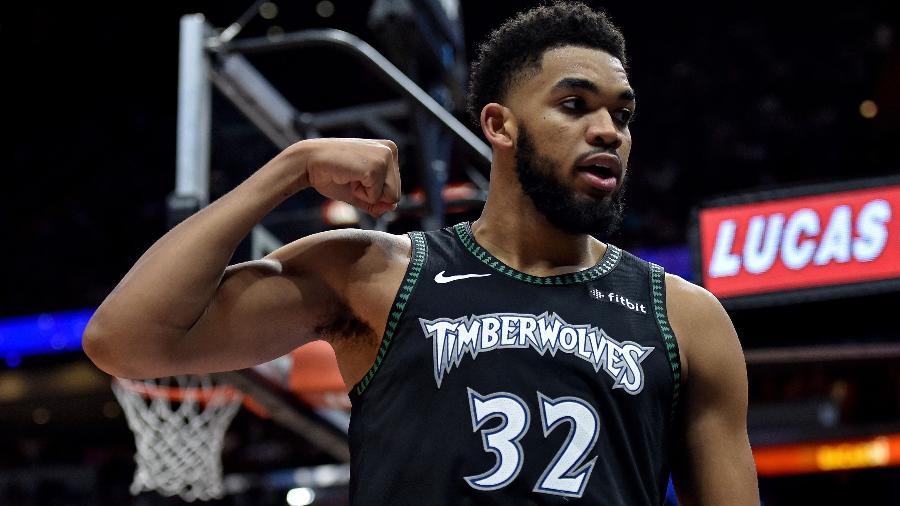 Karl-Anthony Towns, pivô do Minnesota Timberwolves - Steve Mitchell/USA Today